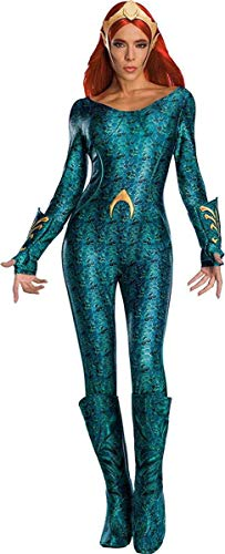 Rubie's Women's Standard Aquaman Movie Adult Deluxe Mera Costume, as as Shown, Small]()