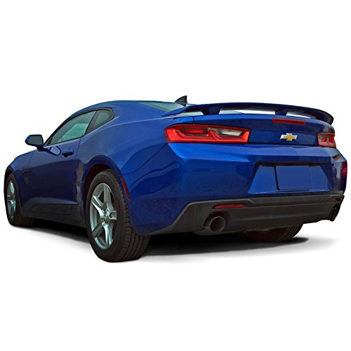 CAMARO16-PED Factory Style Pedestal Spoiler for Chevrolet Camaro - BLACK MEET KETTLE METALLIC WA384A (GB8) - Pedestal Kettle