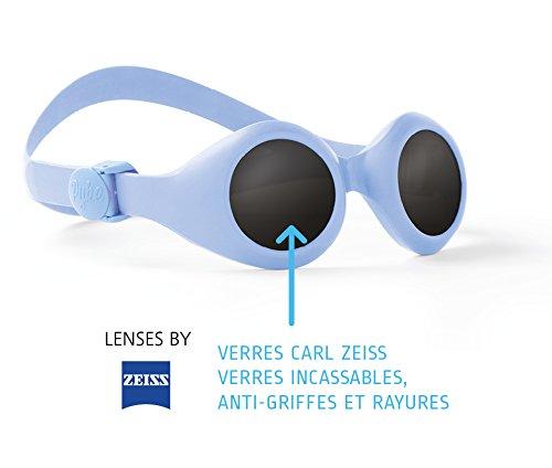 57c529584b123a Pyke - BabyPyke - Lunettes de soleil - 3 à 36 mois - Mixte Fille   Garçon -  Bleu clair  Amazon.fr  Vêtements et accessoires