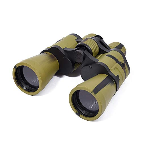 RYRYBH Fashion Light and Convenient New Creative Camouflage Army Green Binoculars 2050 Concert Supplies HD High Power Telescope Telescope (Size : Height 180mm)