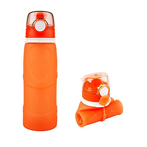 Street Tribe Water Bottle, Sports Water Bottle ,Silicone Water Bottle, Collapsible Water Bottle, Food-Grade 750ml Outdoor Sports Soft Water Bottle ,Suitable for travel, Running,Swimming