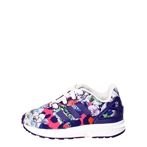 Adidas - Adidas Zx Flux El I Scarpe Sportive Bambina Viola/Multicolor