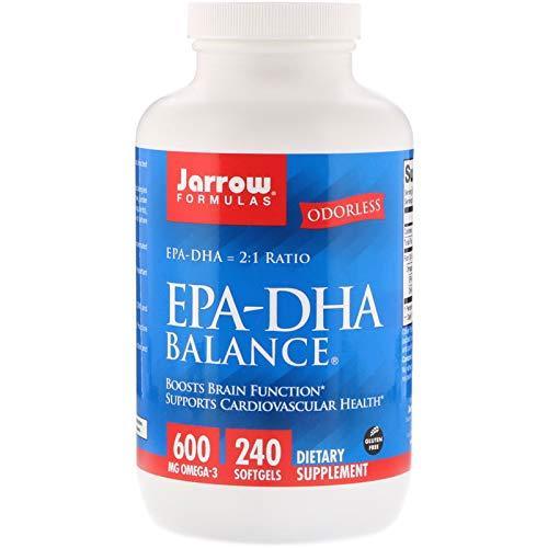 Jarrow Formulas, EPA-DHA Balance, 240 - Softgel Dha Formula