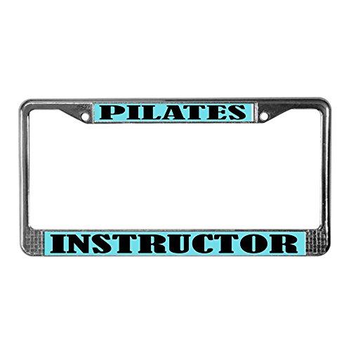 pilates license plate frame - 6