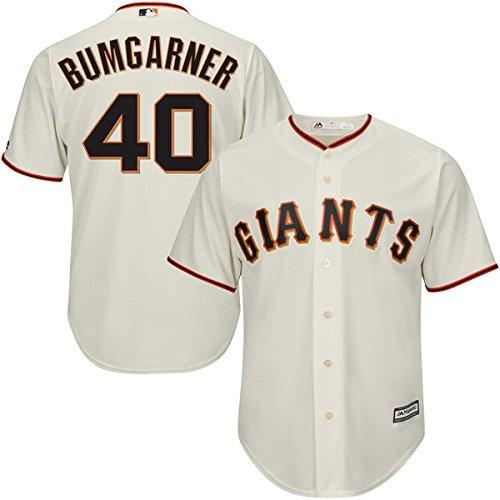 Stitched Mlb Jersey - Majestic Madison Bumgarner San Francisco Giants #40 MLB Youth Stitched Cool Base Home Jersey (Youth Xlarge 18/20)…