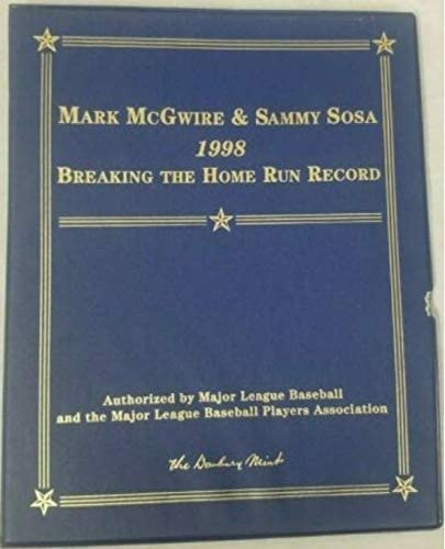 Danbury Mint 1998 /& 1999 Mark McGwire /& Sammy Sosa Home Run Records