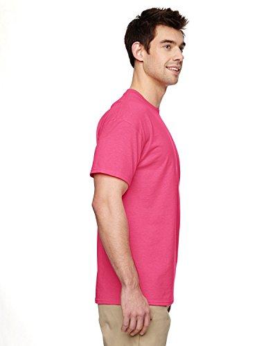 Cotton Maglietta Rosarosa Manica Uomo Corta GildanHeavy Segnale LSpVMqUzG