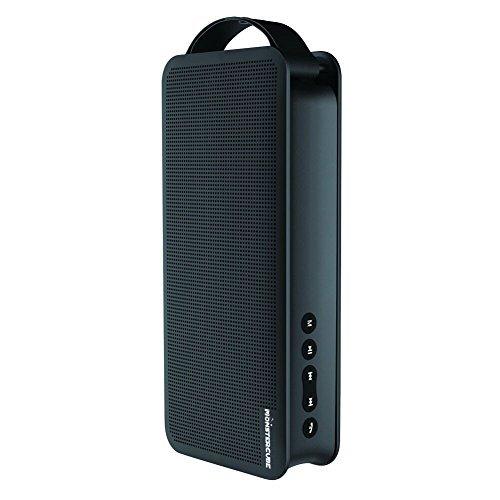 Monstercube Flyer Enceinte Bluetooth /haut-parleur portable Bluetooth sans fil avec poignée 5W*2 10 heures connexion Bluetooth compatible avec smartphone, tablletes appareil MP3-Noir