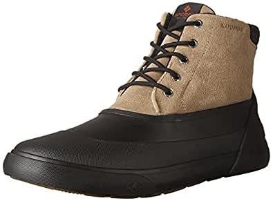 Sperry Top-Sider Men's cutwater Deck Oxford Boot, Noce/Black, 7 M US