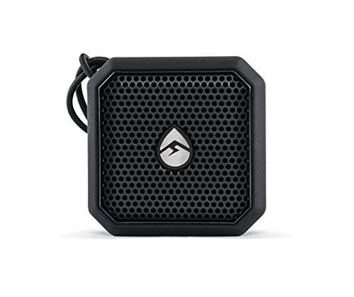 ECOXGEAR EcoPebble Lite Bluetooth Waterproof Rechargeable Speaker - Black (Certified Refurbished) by Grace Digital Audio