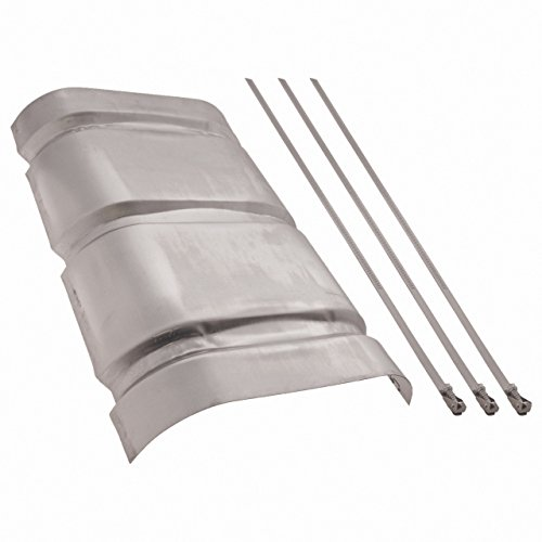 Muffler Shield (Flowmaster 51017 Heat Shield Kit For Super 50 Series/Performance Muffler)