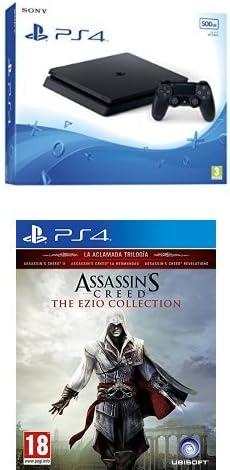 PlayStation 4 Slim (PS4) - Consola de 500 GB + Assassins Creed ...