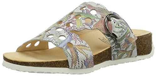 Women''s Multicolour 97 bianco Mules Think Mizzi kombi TgcqPPHw