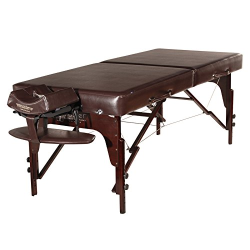 Master-Massage-31-Extra-Large-Carlyle-LX-Portable-Massage-Table-Package-Brown-With-Memory-Foam-Reiki-Panel