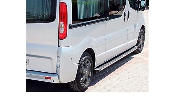 Reposapiés para Opel Vivaro L2-H1 y L2-H2 (Modelos a Partir de 2001-2014), Color Negro: Amazon.es: Coche y moto