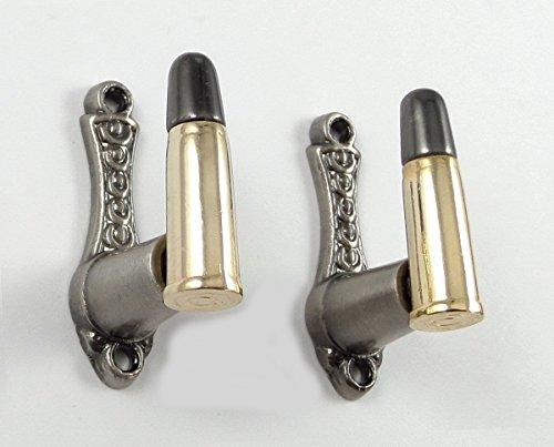 Bullet Design Sword Pistol Knife Gun Wall Hanger Hook Display Bracket Mount - Bullet Wall Mount