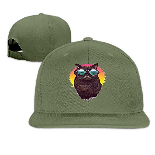 ffa82e215 ... sweden underwater kitty snapback cap plain blank caps adjustable flat  bill hats for men women at