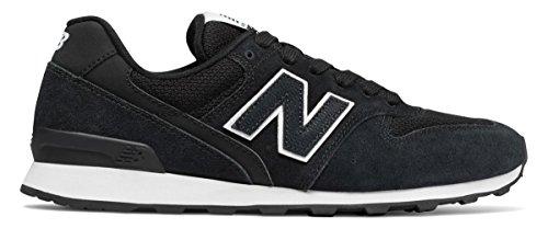 バックアップブローホール勃起(ニューバランス) New Balance 靴?シューズ レディースライフスタイル 696 Black with White ブラック ホワイト US 7 (24cm)