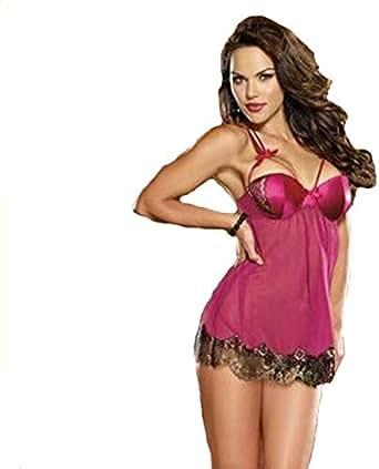 Bra Lingerie For Women Size L - Pink