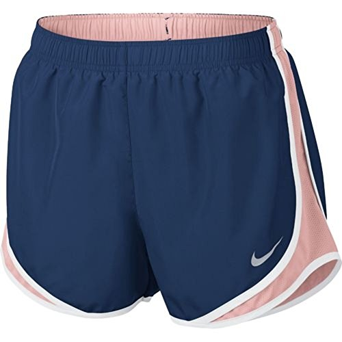 Nike Womens Wicking Colorblock Shorts Bicolore Bl / Mel Brillante / Wh / Wg