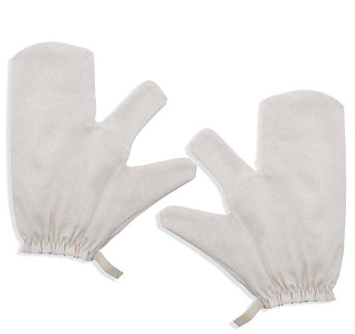 Raw Silk Gloves Garshana massage