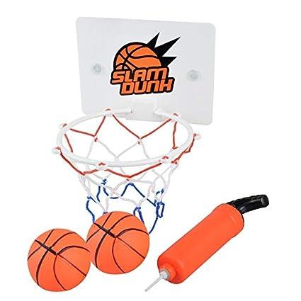Amazon.com: PCEPEIVK Mini portátil de baloncesto aro ...