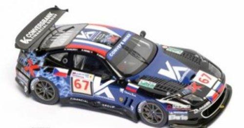 BBR 1/43 Ferrari 550 Maranello LM GT1 Dark Blue #67 24h. Le Mans 2006 Team Convers Men X Limited 200 Pcs. - Dark Ferrari Blue