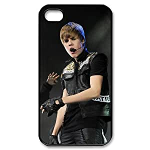 Custom Justin Bieber Cover Case for iPhone 4 4s LS4-2382