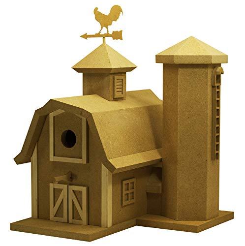 DIY KIT The American Barn Birdhouse Kit
