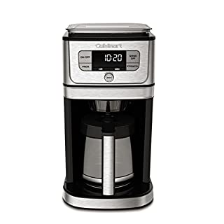 Cuisinart DGB-800 Fully Automatic Burr Grind & Brew, 12 Cup, Silver