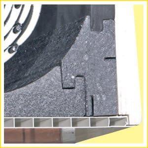 DiHa 18010 aislamiento del Buzón de persiana con aislamiento acústico de 13 mm de cierre tapa 175 mm: Amazon.es: Bricolaje y herramientas