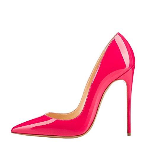 Arc-en-Ciel zapatos de mujer en punta zapato de tacón alto Rosa