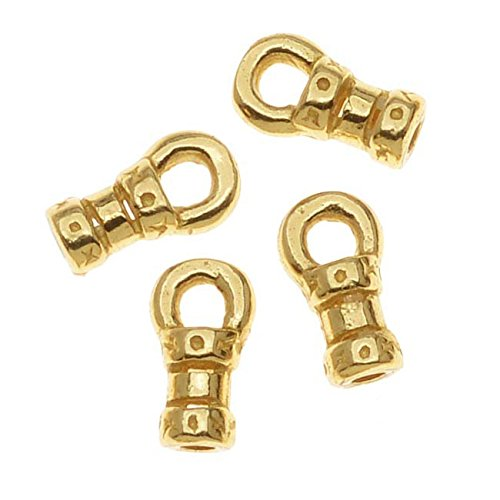 Gold Tone Crimp Bead - 3