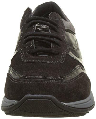 Stonefly Warren 5 Velour, Sneaker Uomo Grigio (Charcoal/Lithium)