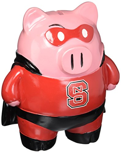 Nc State Large Stand Up Superhero Piggy Bank