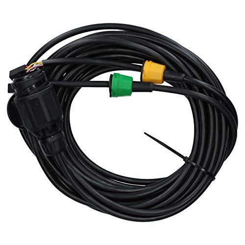 AB Tools-Maypole 6m Replacement Trailer Wiring Loom Harness 13Pin Plug AJBA Plugs 6 Pin: