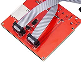HU ZHANG Impresora 3D Placa del módulo, MKS Gen Motherboard V1.4 + ...