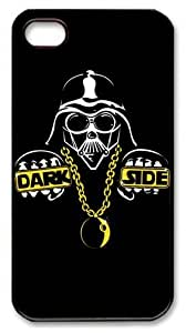 LZHCASE Personalized Protective Case for iPhone 4/4S - Star Wars Dark Side