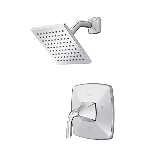Pfister LG89-7BSC  Bronson 1-Handle Shower Only Trim in Polished Chrome - 1 Polished Chrome Angle