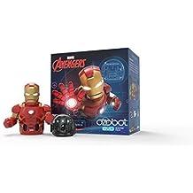 Evo App-Connected Coding Robot, Iron Man (Black)