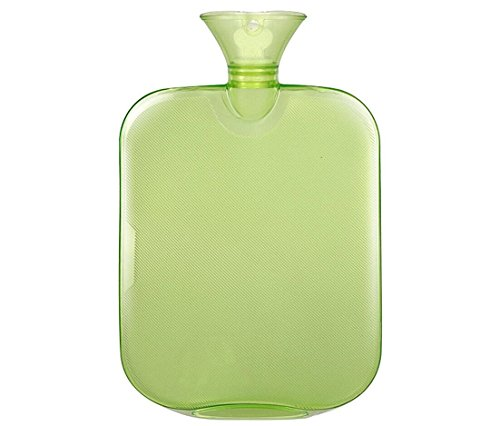 douper Hot & Cold Therapies 2 Quart Classic Rubber/PVC Hot Water Bottles (Green) (Am Personal Assistant Care)