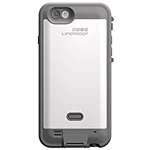 "LifeProof FRE POWER iPhone 6 ONLY (4.7"" Version) Waterproof Battery Case - Retail Packaging -  (BRIGHT WHITE/COOL GREY) (Discontinued by Manufacturer)"