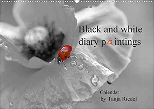Black and White Diary Paintings by Tanja Riedel Great Britain Edition 2018: Great Black and White Photographs with a Small Splash of Color as a Great Contrast in the Image (Calvendo Food)