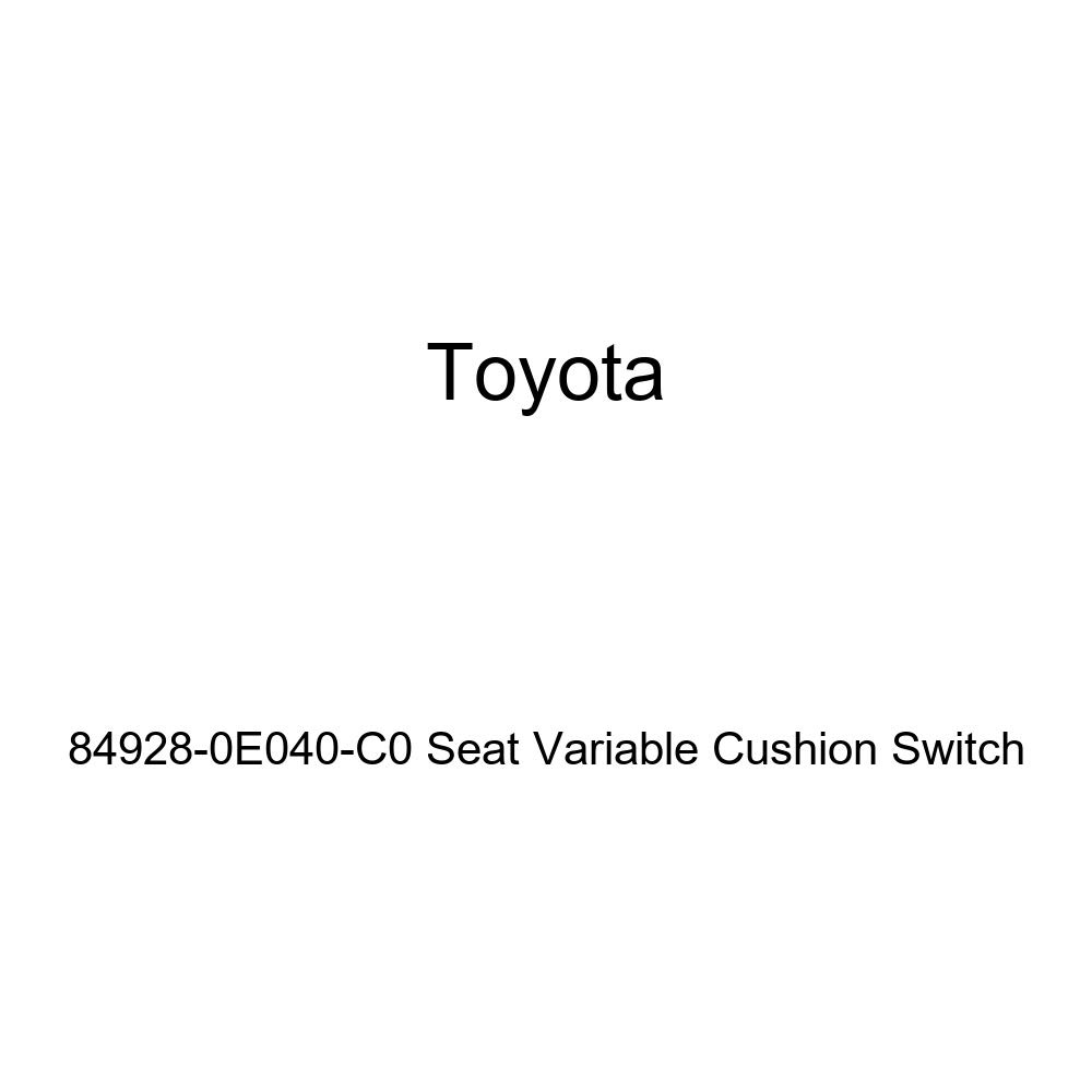 Toyota 84928-0E040-C0 Seat Variable Cushion Switch