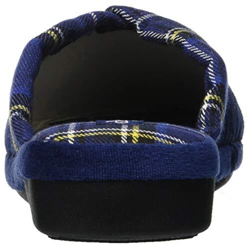 Verona de Talon Chaussons Scuro fonseca à W418 Bleu Ouvert Femme Blu ZqHq5OTnwx