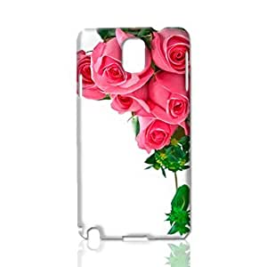 Roses 3D Rough Case Skin, fashion design image custom, durable hard 3D case cover, Case New Design for Samsung Galaxy Note 3 , By Codystore