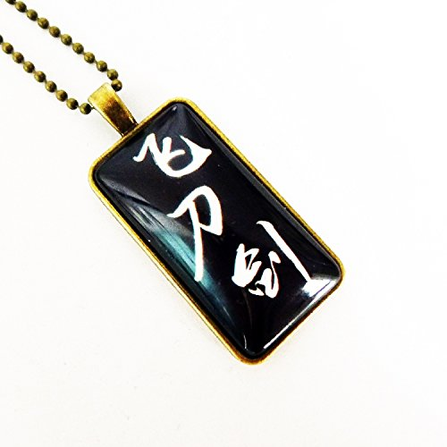 usongs custom full-time master peripheral figures do not fly Liu necklace pendant sweater chain