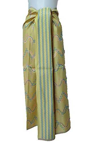 Thai Myanmar Synthetic Silk Fabric Mandalay MT30 for women Skirt Dress MF25 (Mandalay Skirt)