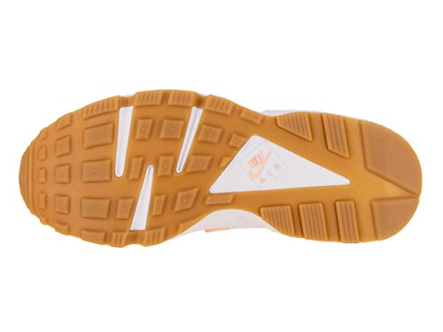 Nike Damen Air Huarache Laufschuhe Sunset Tint / Weiß / Gum Yellow