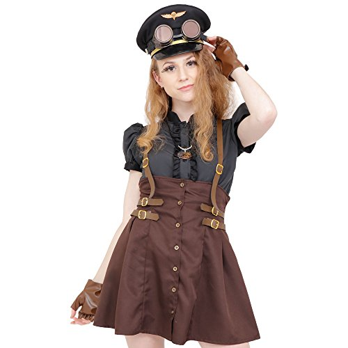 STEAMPUNK - Military Girl Costume